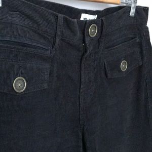 Madewell Black Corduroy Pants